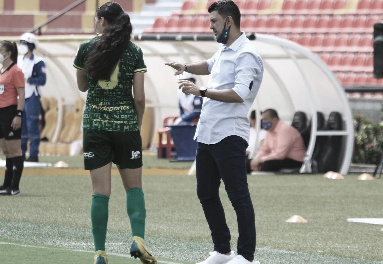"""Héctor Rodríguez: """"Sabemos que Medellín es el líder, pero al iniciar seremos 11 contra 11"""""""