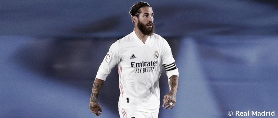 Sergio Ramos en un encuentro con el Real Madrid. Fuente: Real Madrid