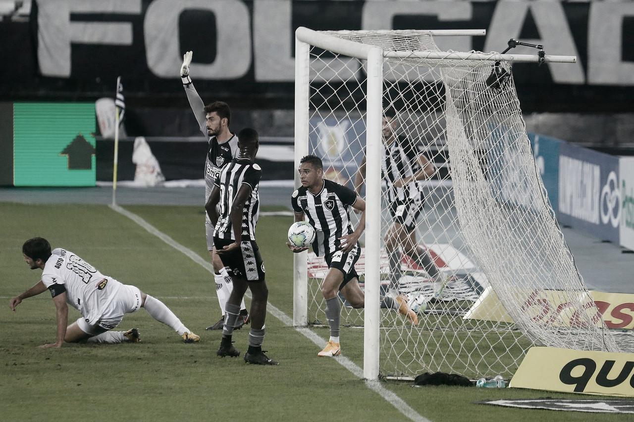 Gols e melhores momentos Atlético-MG 2 x 1 Botafogo pelo Campeonato Brasileiro 2020