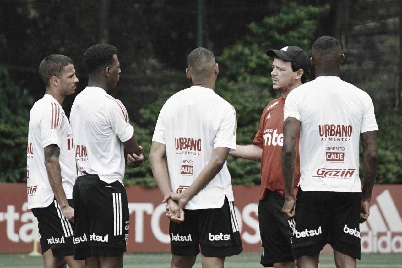 Líder São Paulo segue com elenco completo para encarar modificado Sport