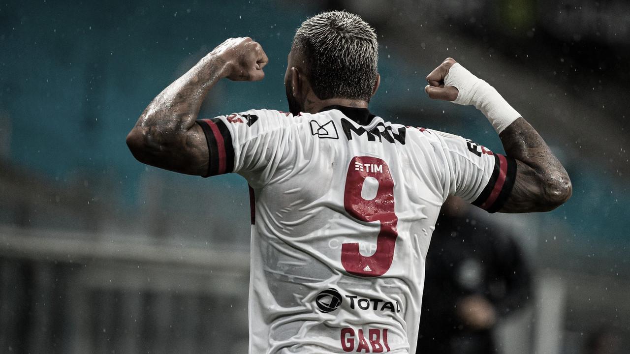 Gabigol, o carrasco recente do Grêmio