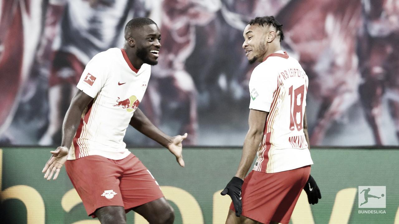 RB Leipzig mostra superioridade e bate Bayer Leverkusen em confronto direto
