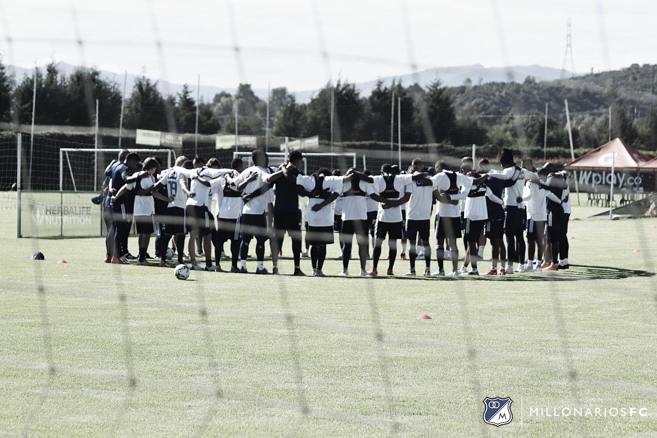 Convocados de Millonarios para el partido ante Independiente Medellín