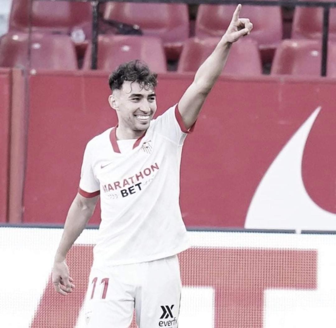 Resumen del Sevilla vs Huesca (1-0)