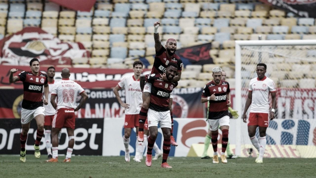 Novo líder! Flamengo desbanca Inter e assume ponta do Brasileirão
