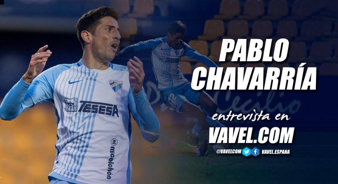 """Entrevista. Pablo Chavarría """"Me gustaría retirarme en Argentina"""""""