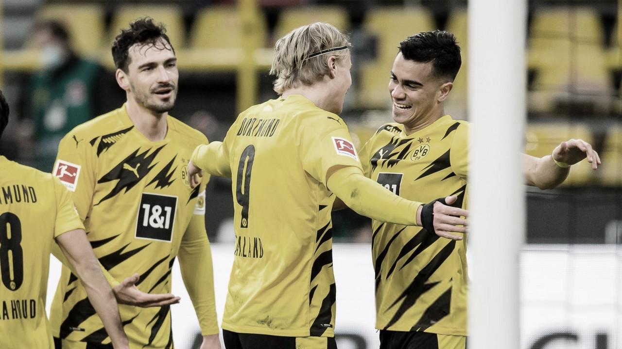 Com ótima atuação de Sancho e gol de Reinier, Borussia Dortmund derrota Arminia Bielefeld