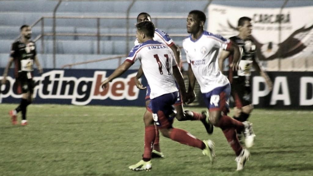 Salgueiro tenta reação na reta final, mas Bahia vence pela Copa do Nordeste