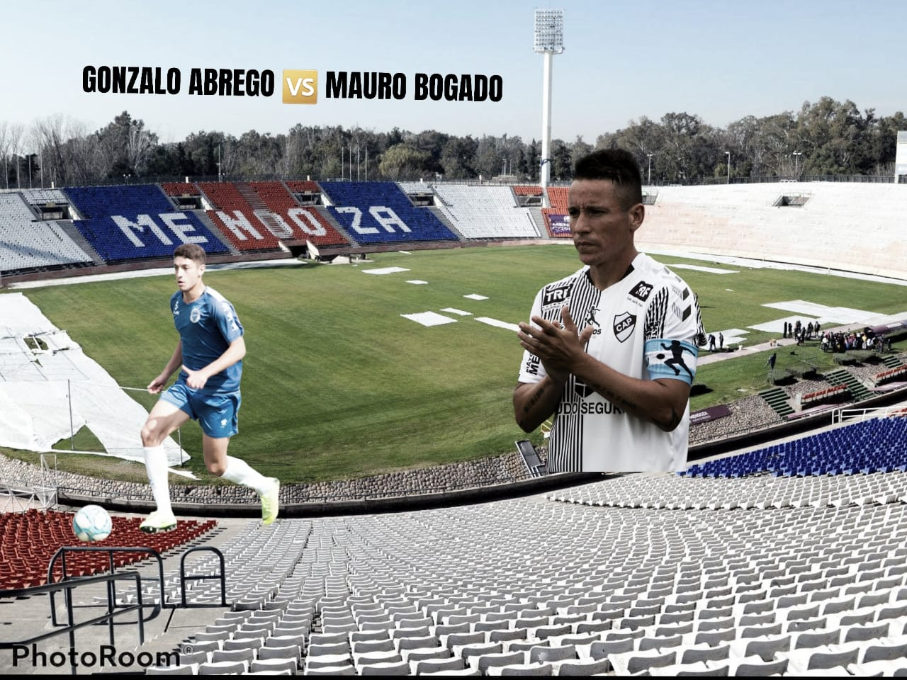 Gonzalo Abrego vs Mauro Bogado: Medio peleado