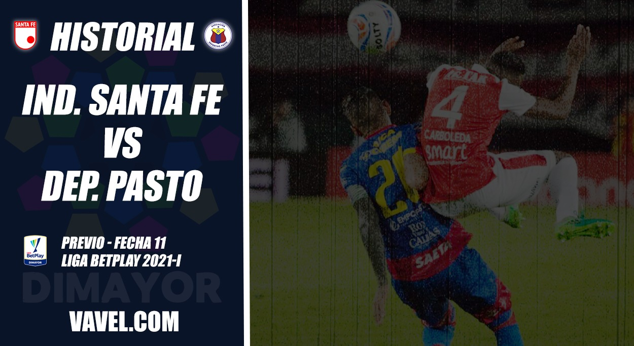 Historial Independiente Santa Fe vs. Deportivo Pasto: ventaja capitalina