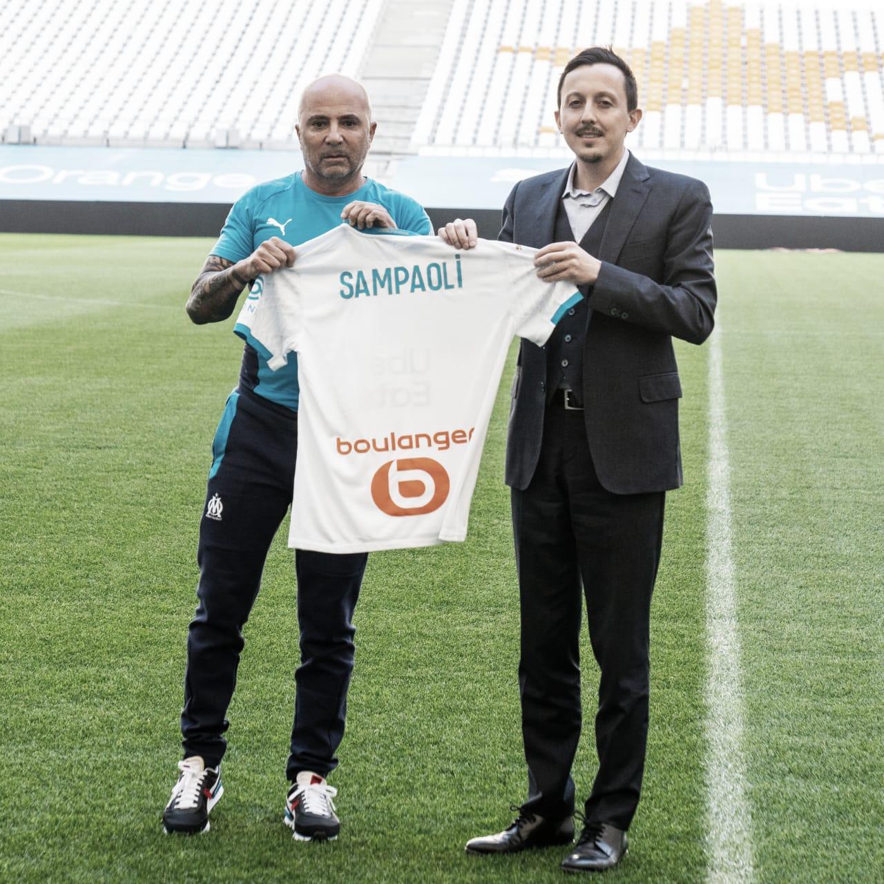 Jorge Sampaoli es el nuevo entrenador del Olympique de Marsella: ''No quiero intentar ser Bielsa''