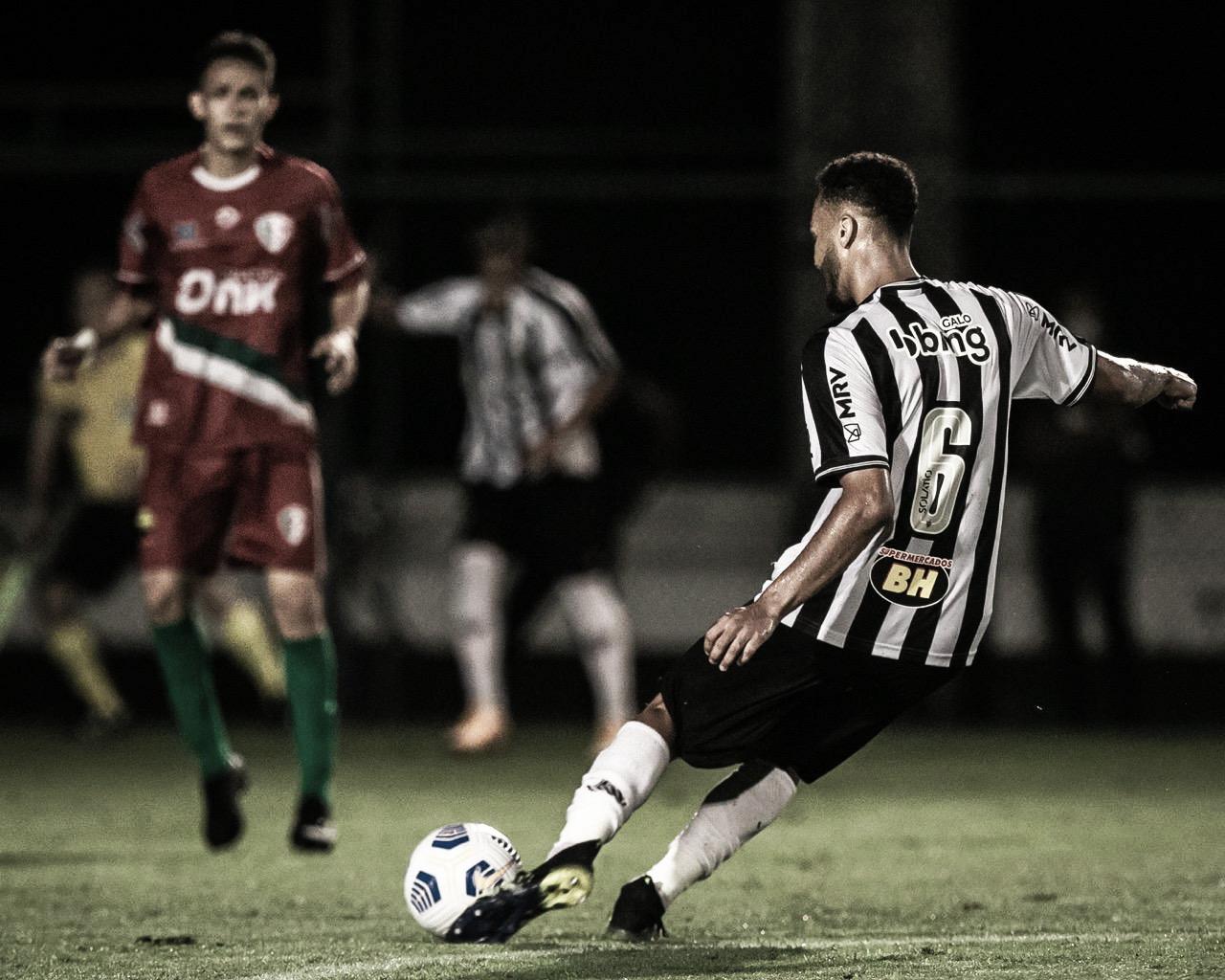 Vinícius Nogueira destaca tranquilidade para Atlético-MG avançar na Copa do Brasil sub-20
