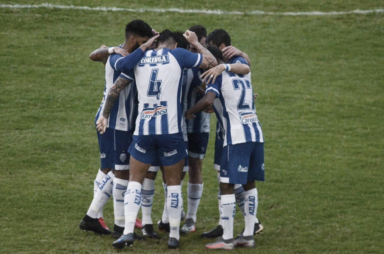 Sem nenhuma dificuldade, CSA goleia Guarany de Sobral e quebra longo tabu