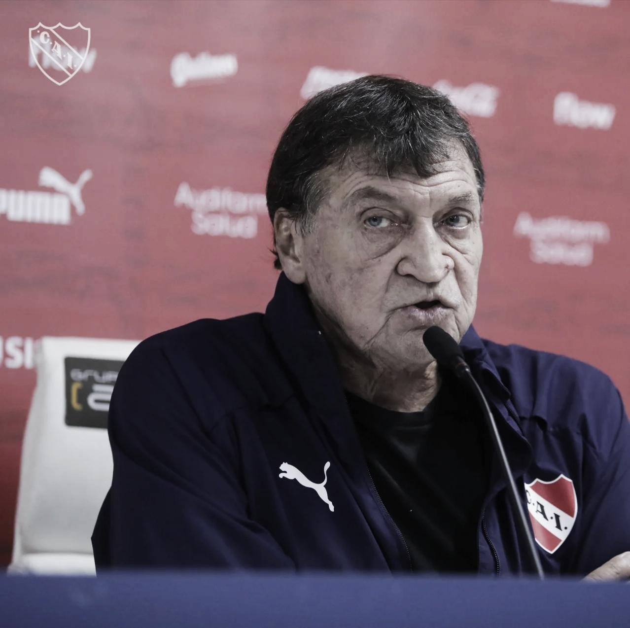 Julio César Falcioni: '' Rescato la actitud del equipo''