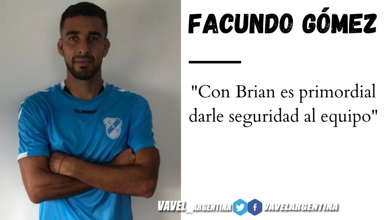 """Facundo Gómez: """"Estamos en la zona más difícil"""""""