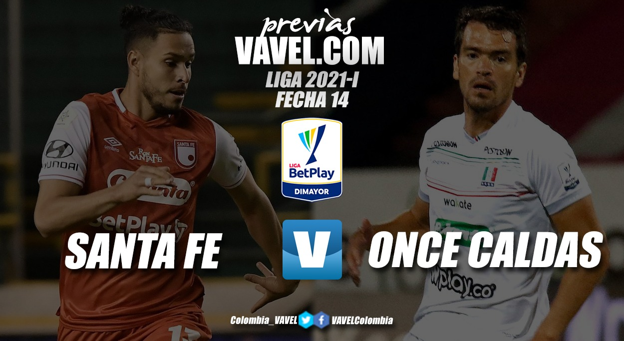 Previa Independiente Santa Fe vs. Once Caldas: será determinante una victoria