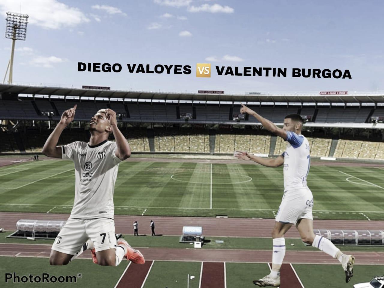 Valentín Burgoa vs Diego Valoyes: Llegó su momento.