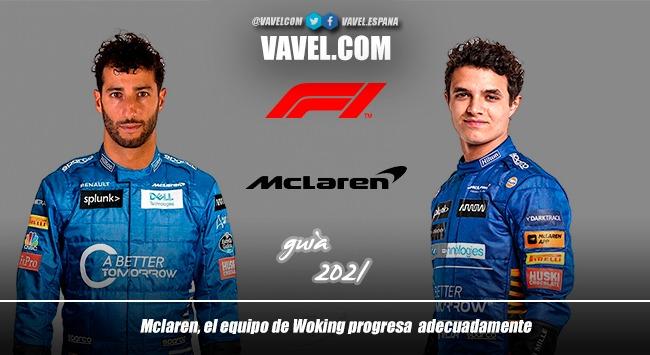 Guía VAVEL F1 2021: McLaren, el equipo de Woking progresa adecuadamente