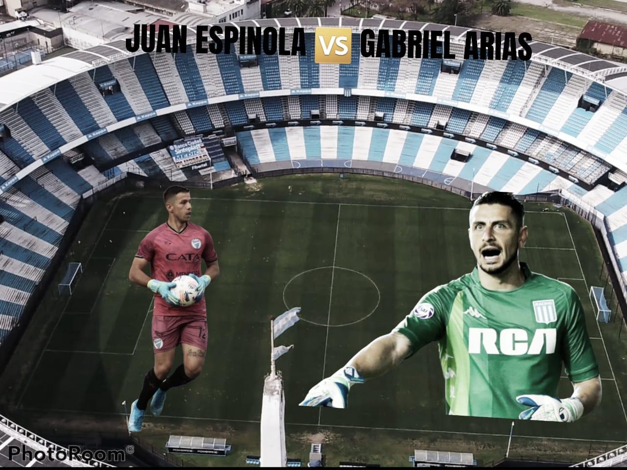 Juan Espínola vs Gabriel Arias: En busca de la valla invicta