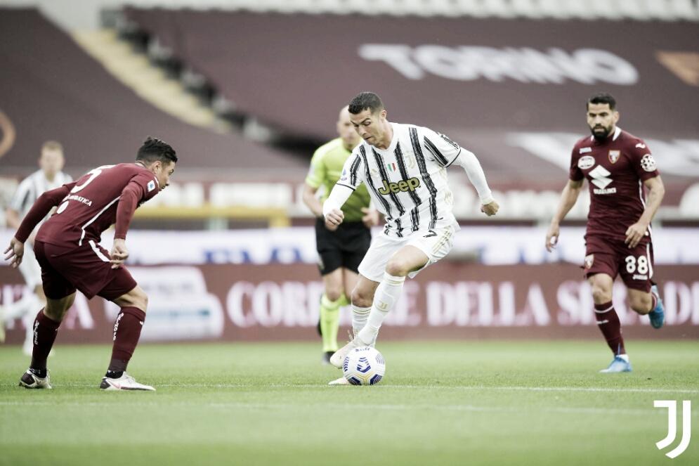 Juventus sai na frente, mas apenas empata com Torino no dérbi de Turim