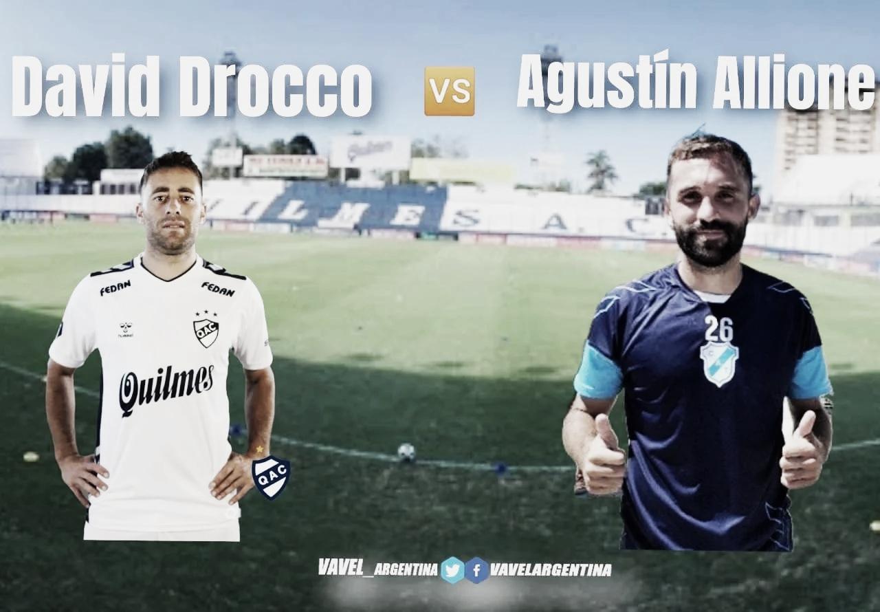 Cara a cara: David Drocco vs. Agustín Allione