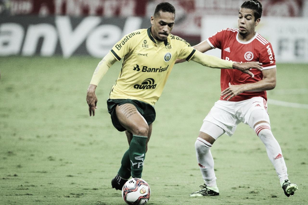 Mikael, volante do Ypiranga, fala sobre a partida decisiva contra o Fortaleza na Copa do Brasil
