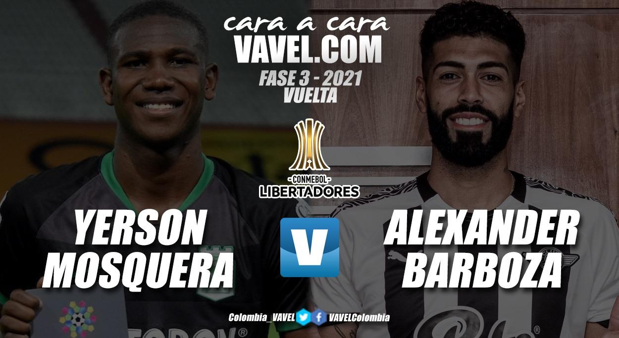 Cara a cara: Yerson Mosquera vs. Alexander Barboza