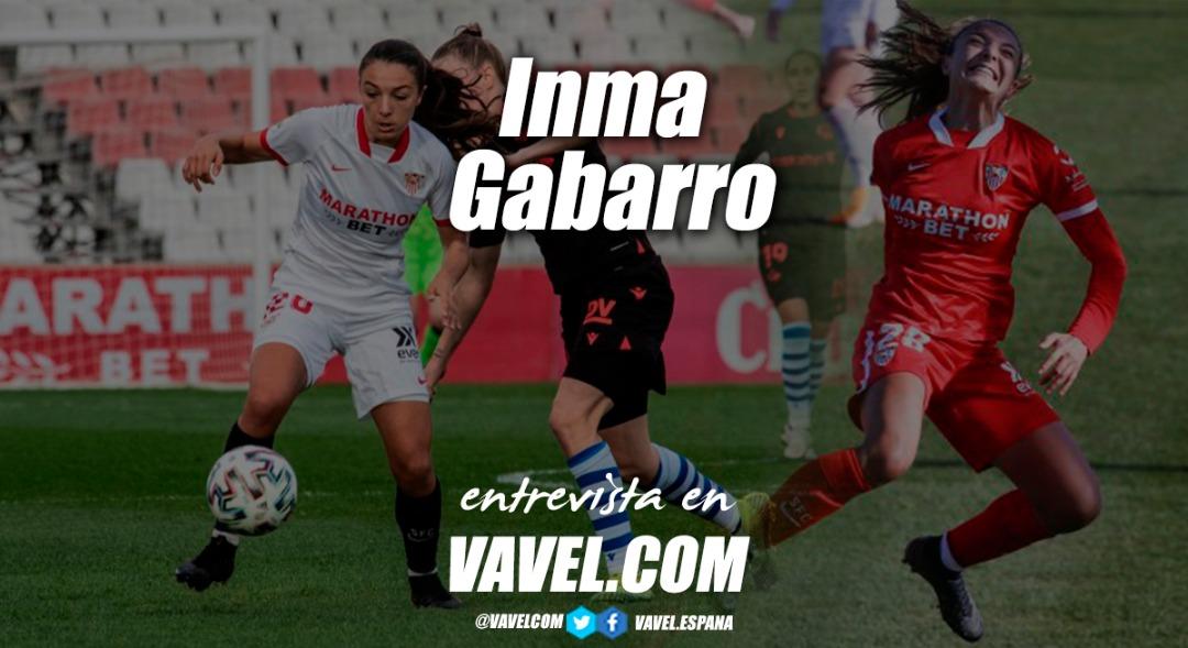 """Entrevista. Inma Gabarro: """"Creo que tanto el femenino como el masculino tienen que tener las mismas facilidades para ser futbolista"""""""