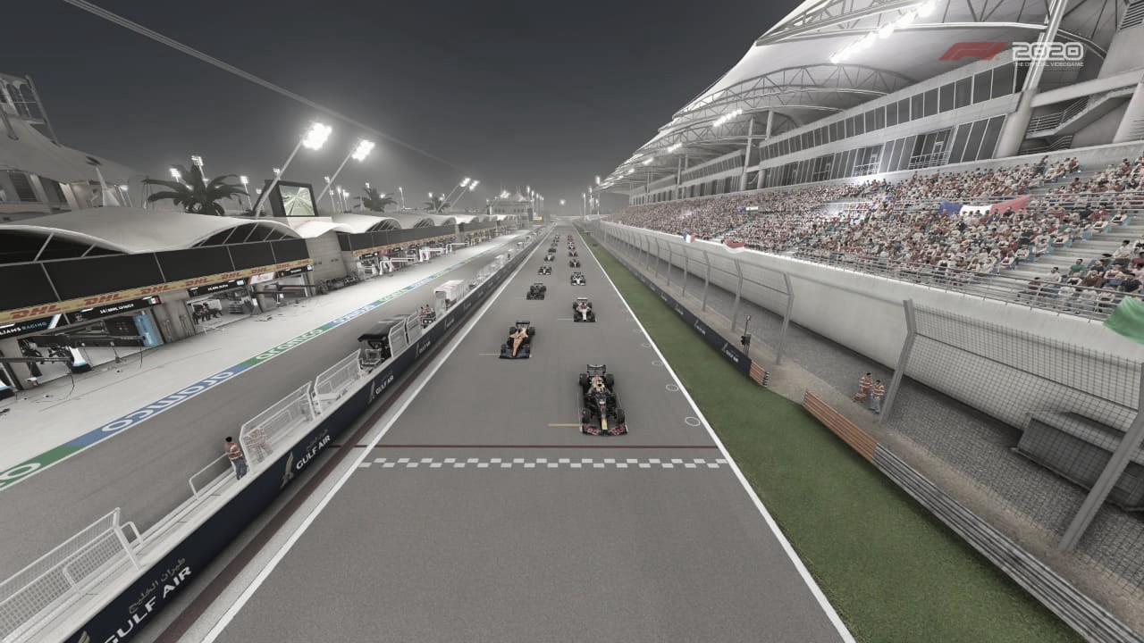 Red Bull y Racing Point dominaron en Bahréin