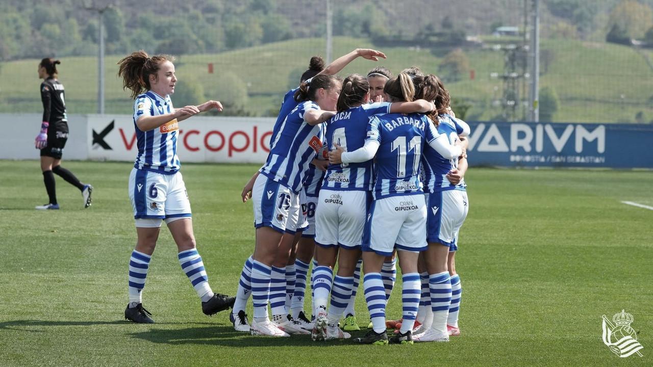 Real Sociedad 3-1 EDF Logroño: firmes en la pelea por Europa
