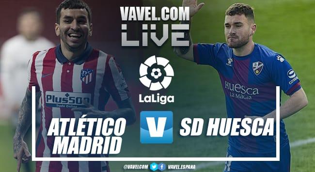Resumen del Atlético de Madrid vs SD Huesca (2-0)