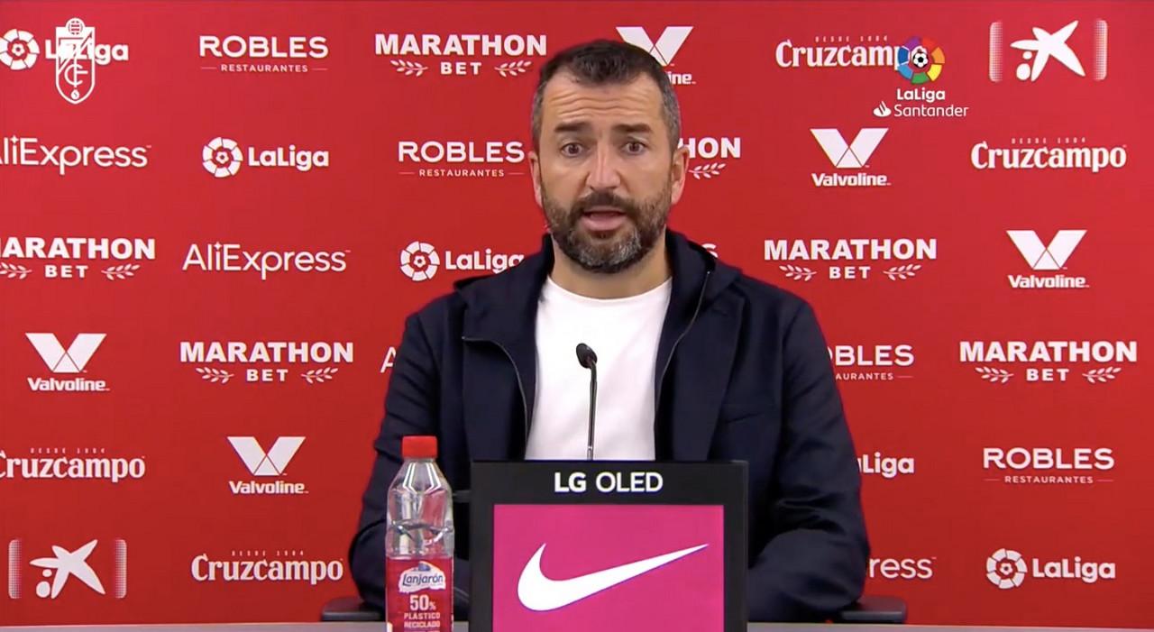 """Diego Martínez: """"Ser competitivos ante el Sevilla dice mucho"""""""