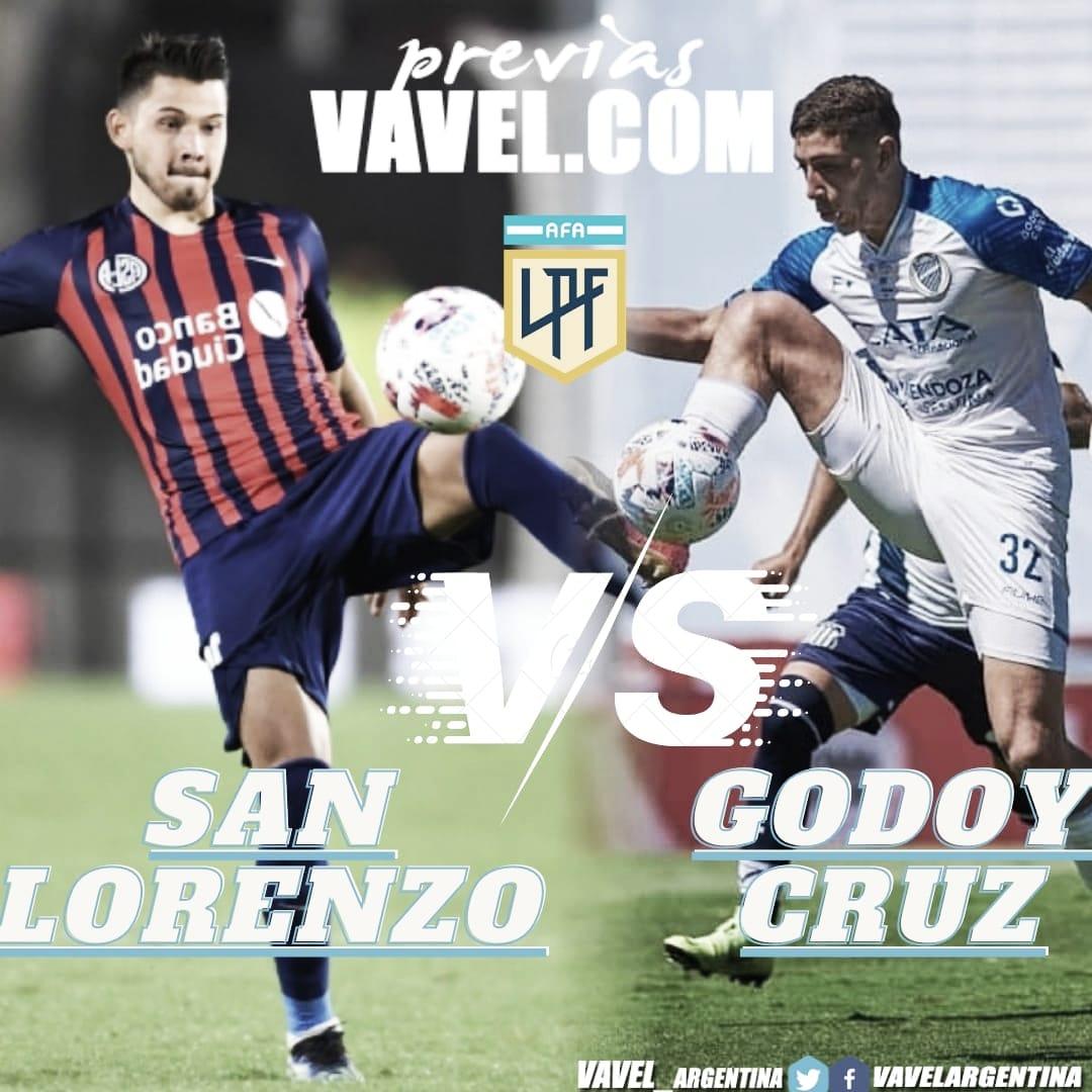 San Lorenzo- Godoy Cruz: Por un pie en la clasificación