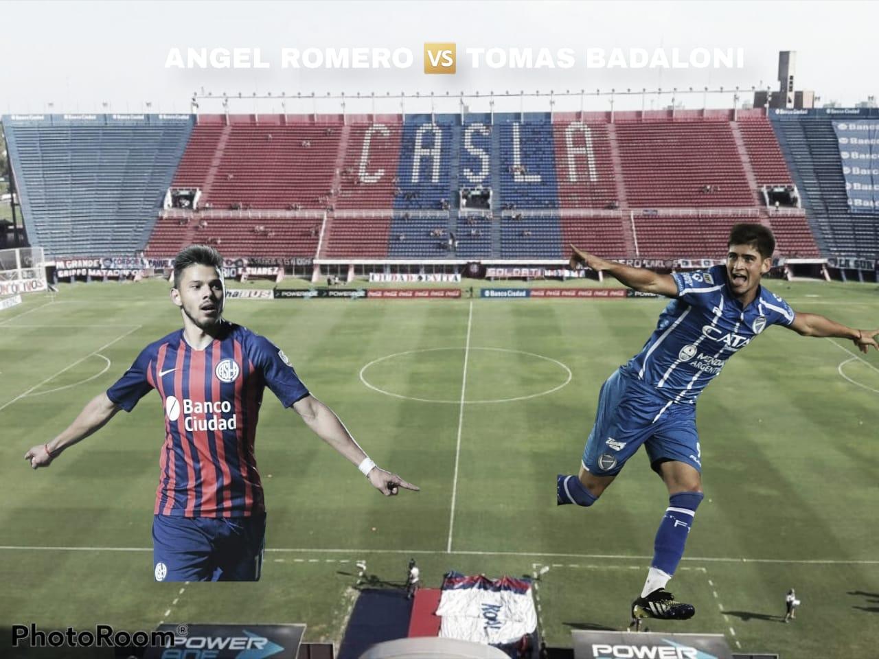 Tomás Badaloni vs Ángel Romero: Directos rivales