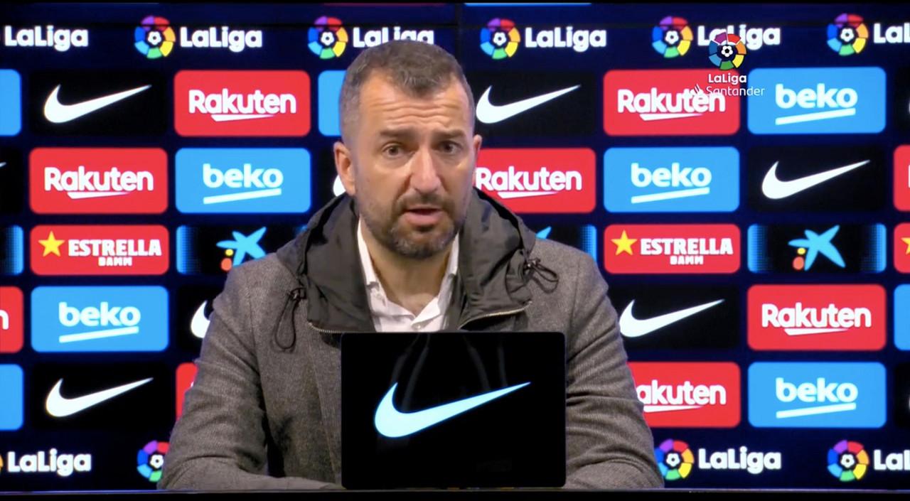 """Diego Martínez: """"Que la afición lo disfrute, que lo saboree"""""""