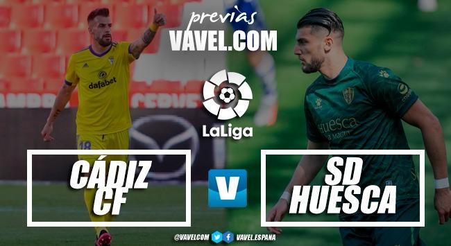 Previa Cádiz CF vs SD Huesca: con el cuchillo entre los dientes