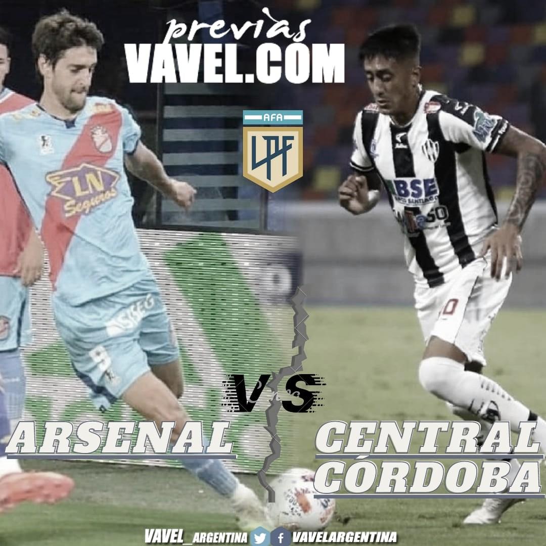 Fecha 13: Central Córdoba vs. Arsenal.