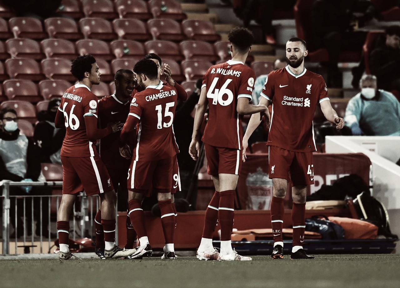 Análise: Liverpool vence Southampton e se aproxima da zona de classificação europeia