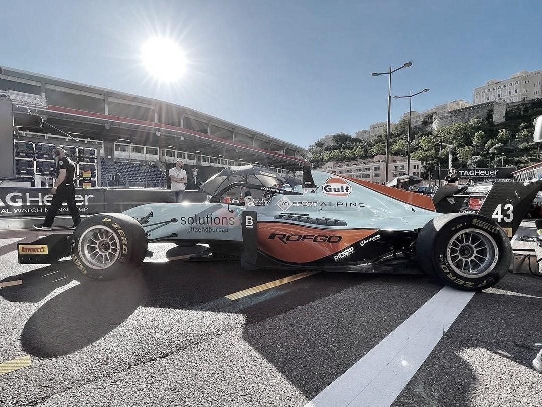 Décimo puesto en las prácticas de Mónaco