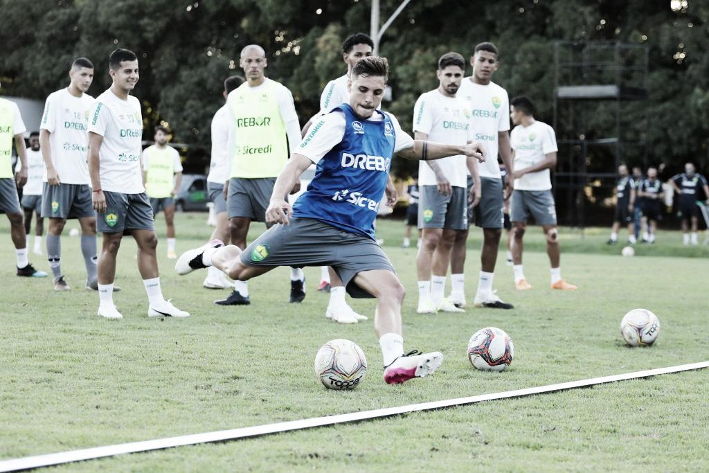 No Cuiabá, Camilo fala sobre sua primeira disputa de Brasileirão Série A