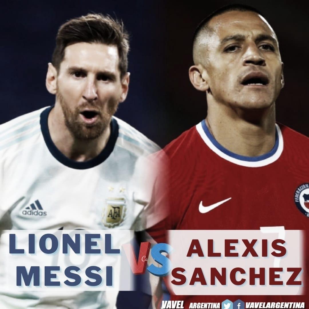 Messi vs Sánchez: Buscando el gol de la victoria