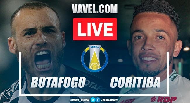 Gols e melhores momentos de Botafogo 2x0 Coritiba pelo Brasileirão Série B