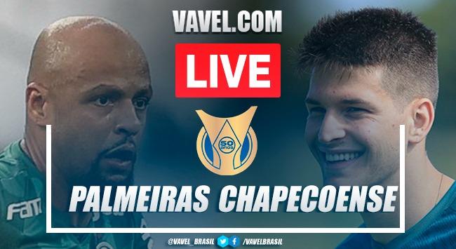 Gols e melhores momentos de Palmeiras x Chapecoense pelo Campeonato Brasileiro (3-1)