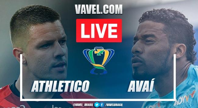 Gol e melhores momentos Athletico-PR x Avaí pela Copa do Brasil (1-0)