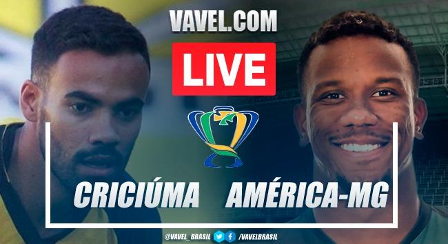 Gols e melhores momentos de Criciúma x América-MG pela Copa do Brasil (2-2) | Nos pênaltis: 3 x 2