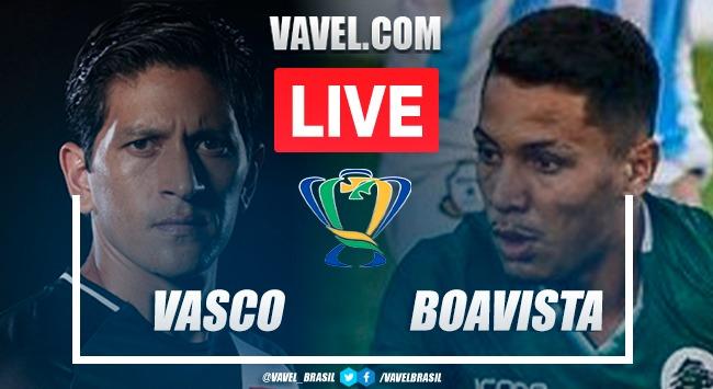 Gols e melhores momentos de Vasco 1 x 1 Boavista pela Copa do Brasil