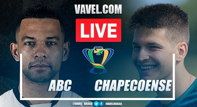 Gols e melhores momentos ABC x Chapecoense pela Copa do Brasil (3-0)