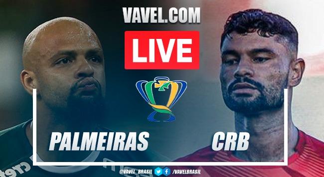 Gols e melhores momentos de Palmeiras 0x1 CRB pela Copa do Brasil | Pênaltis (3-4)