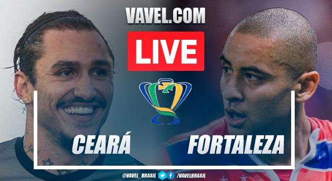 Gols e Melhores momentos de Ceará 3 x 0 Fortaleza
