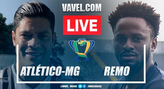 Gols e melhores momentos Atlético-MG 2x1 Remo pela Copa do Brasil 2021